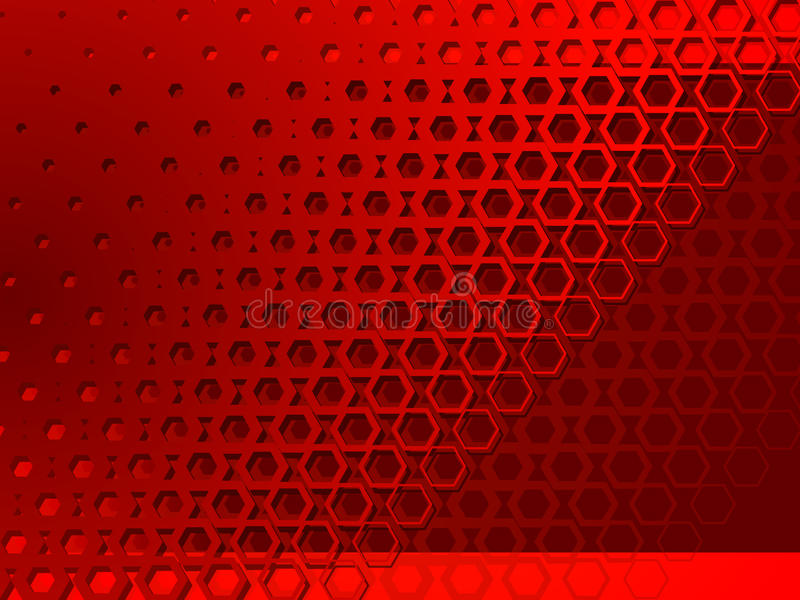 Download Background Red Geometric Abstraction Stock Vector - Image: 11273976