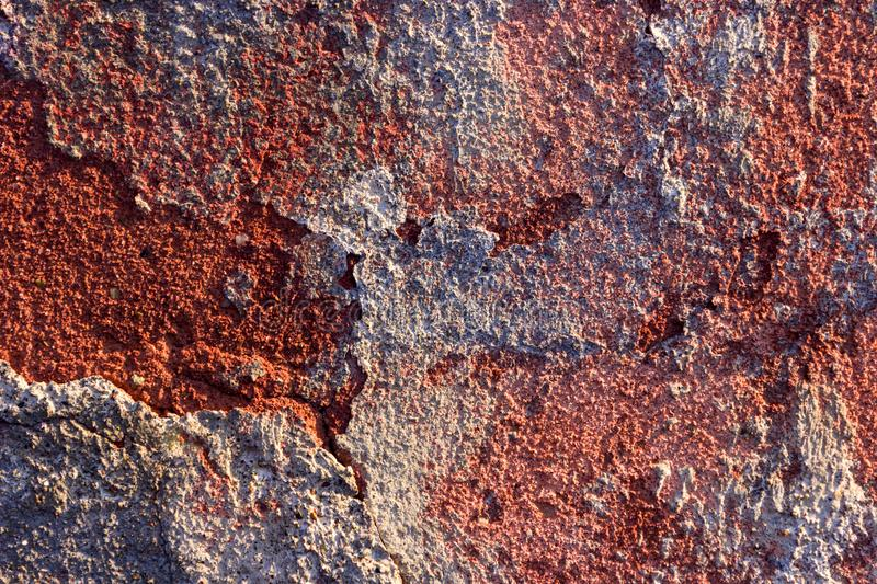 Red plaster royalty free stock photography
