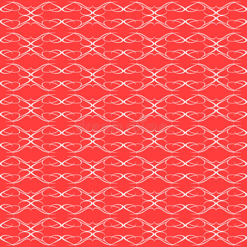 Background red seamless Floral Pattern wallpaper royalty free stock images
