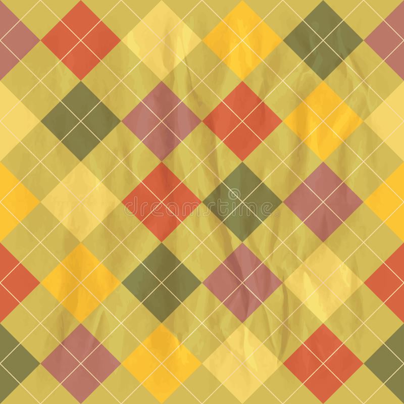 Background with rhombus royalty free illustration