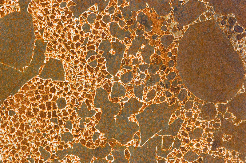 Background - Rust Pattern royalty free stock image