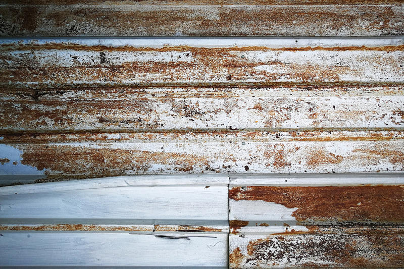 Background of Rusted metal wall, Vintage texture royalty free stock image