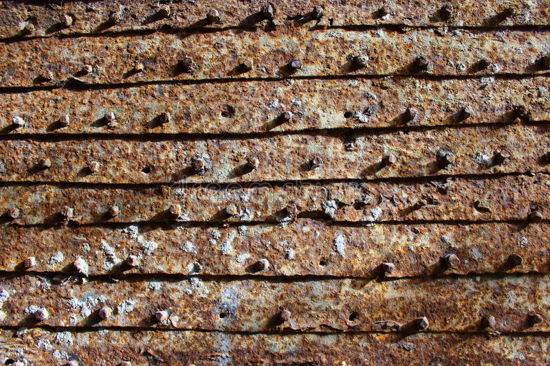 Background from rusty iron doors. I saw it in the old town in the middle east. You can use like a desktop image stock images