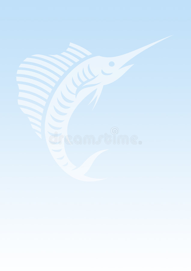Download Background sailfish stock illustration. Illustration of boat - 5571855