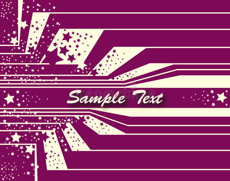 Background with sample text vector illustration
