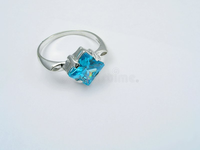 Download Background With  Sapphire Ring Stock Photo - Image: 763424