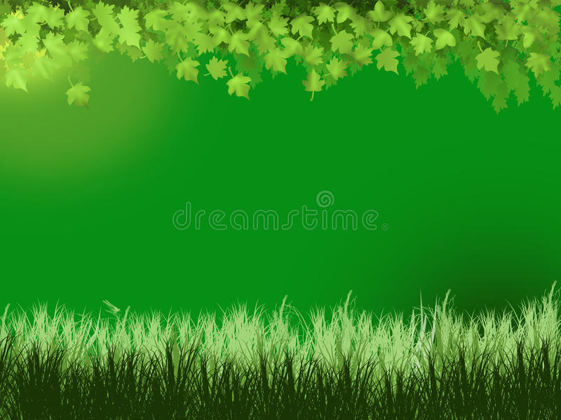 Download Background With Scene Of The Nature Stock Illustration - Illustration of drawing, illustration: 10438478