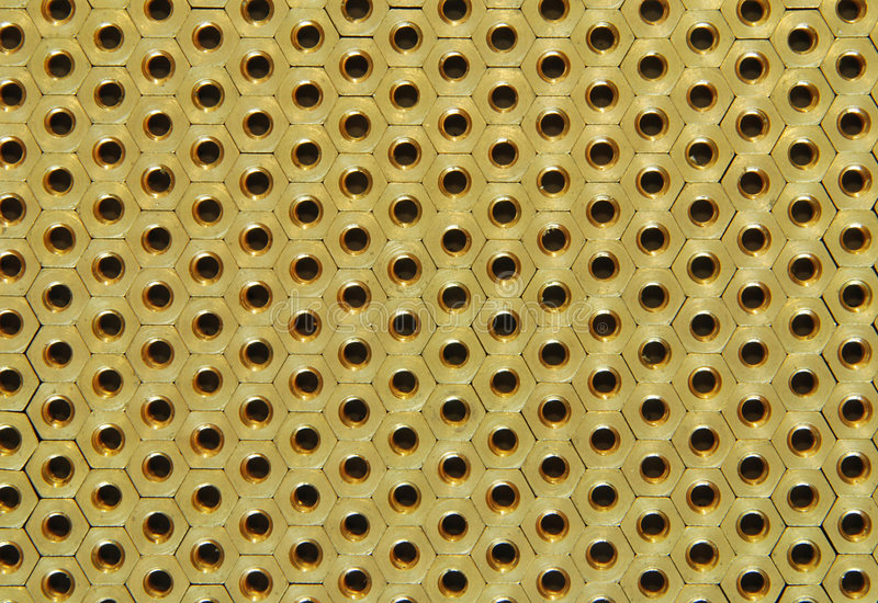 Background of screw-nuts royalty free stock photos