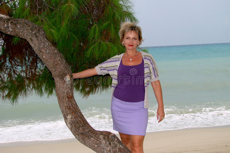 On the background of sea waves royalty free stock images