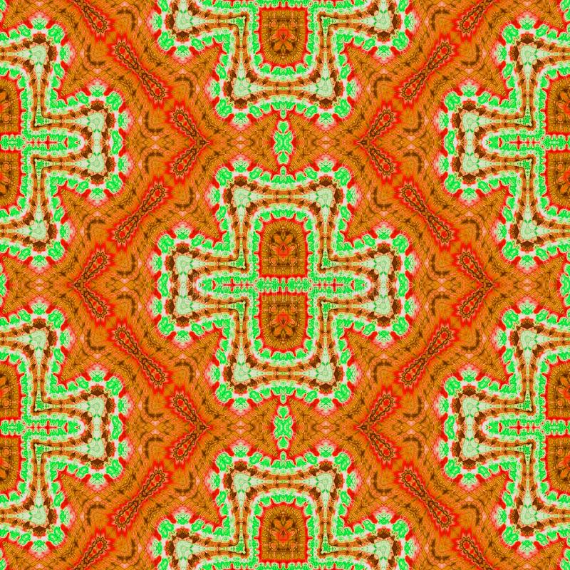 Background Seamless Abstract Tie Dye Pattern. Pattern created originally from tie dyed fabric stock image