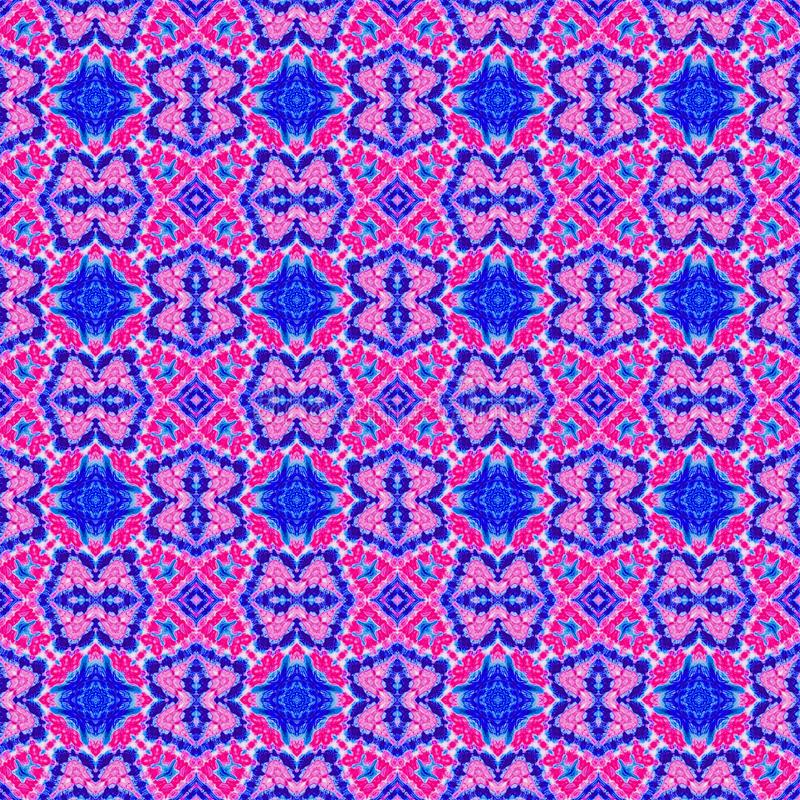 Background Seamless Abstract Tie Dye Pattern. Pattern created originally from tie dyed fabric vector illustration