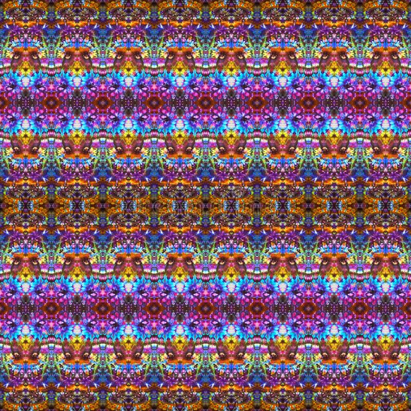 Background Seamless Abstract Tie Dye Pattern royalty free stock images