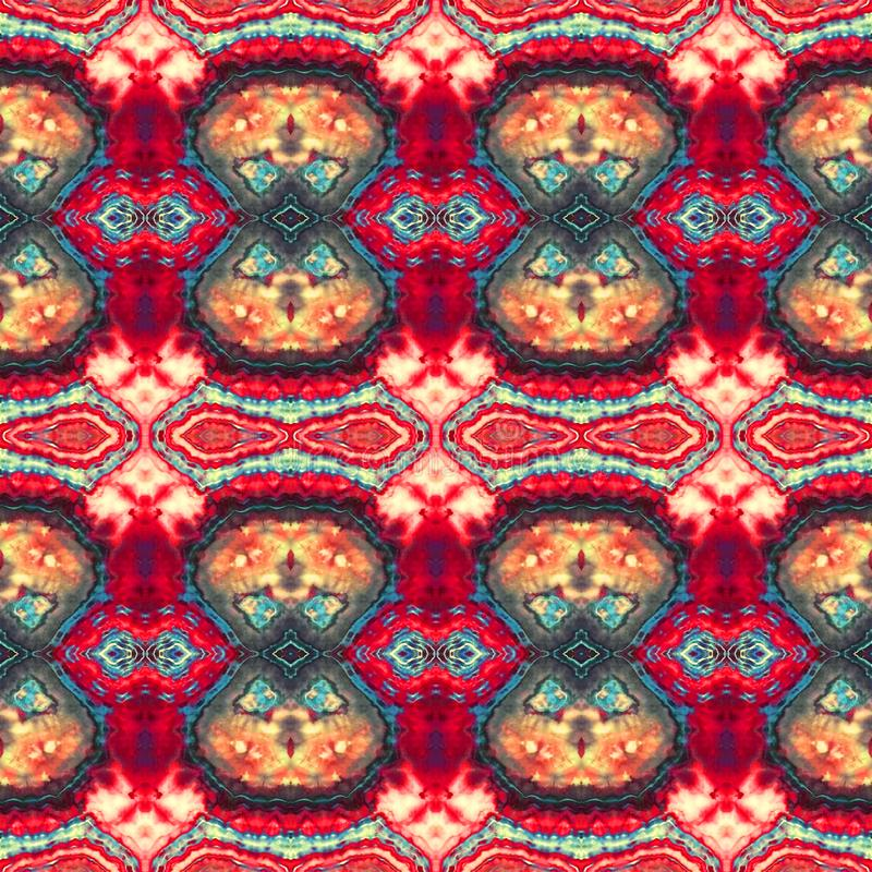 Background Seamless Abstract Tie Dye Pattern. Pattern created originally from tie dyed fabric royalty free stock photography