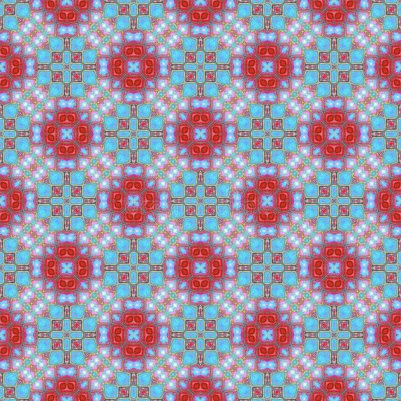 Background Seamless Tie Dye Pattern vector illustration