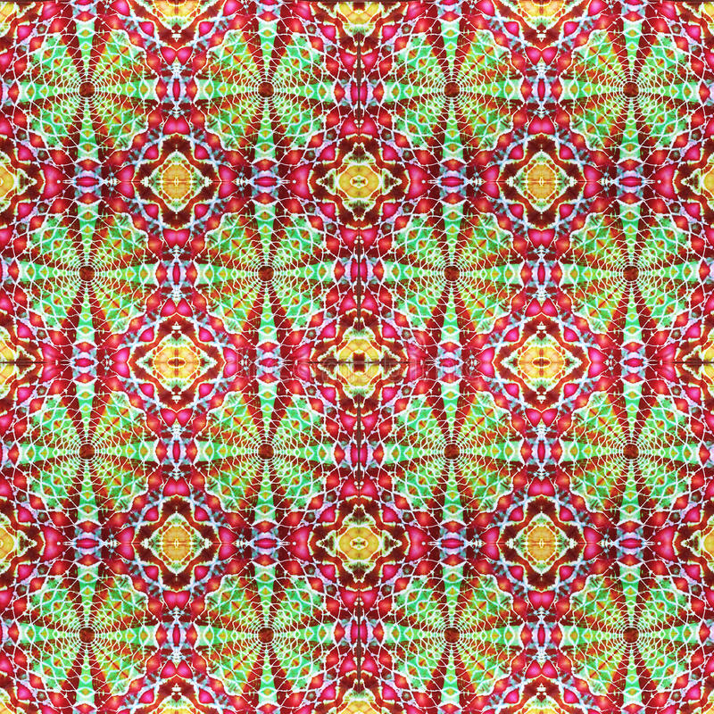Background Seamless Tie Dye Pattern. Pattern created originally from tie dyed fabric royalty free stock image