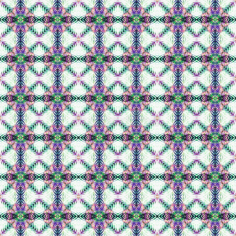 Background Seamless Tie Dye Pattern stock illustration