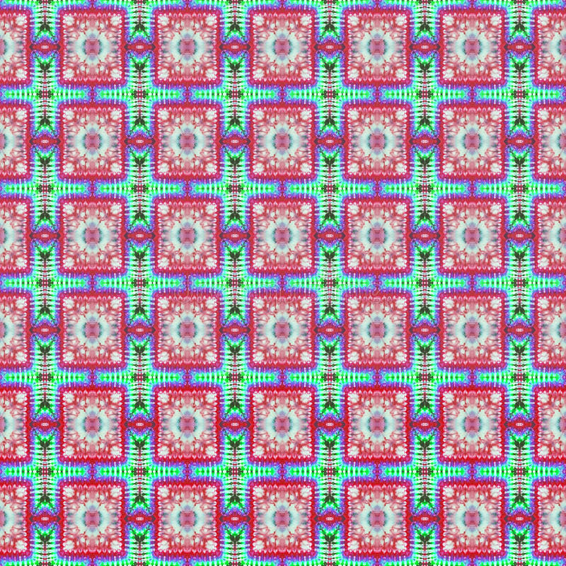 Background Seamless Tie Dye Pattern vector illustration