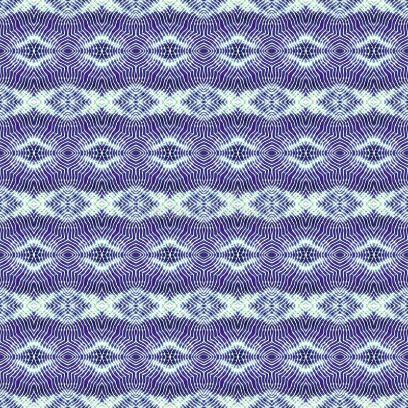 Background Seamless Tie Dye Pattern stock illustration