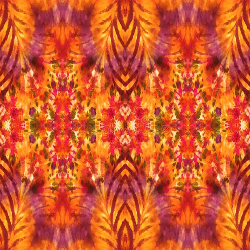 Background Seamless Tie Dye Pattern royalty free stock image
