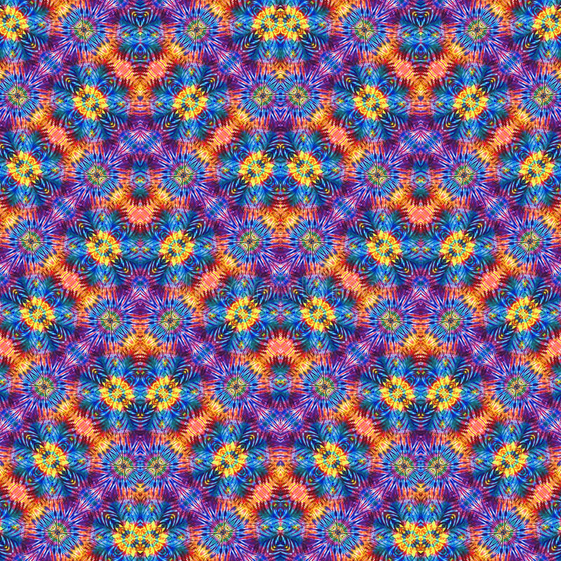 Background Seamless Tie Dye Pattern stock photos