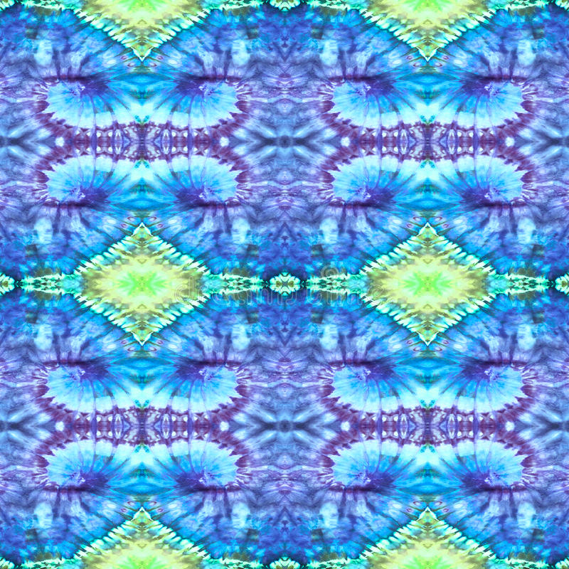 Background Seamless Tie Dye Pattern royalty free stock images