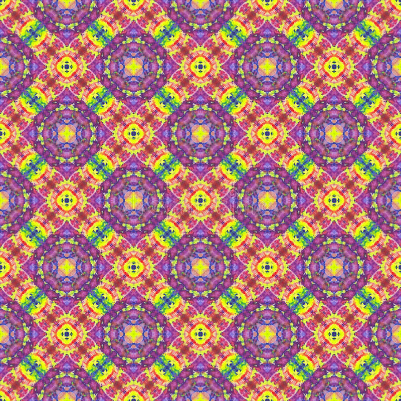 Background Seamless Tie Dye Pattern. Pattern created originally from tie dyed fabric royalty free stock photography