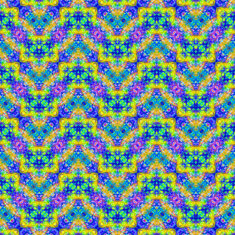 Background Seamless Tie Dye Pattern. Pattern created originally from tie dyed fabric royalty free stock photos