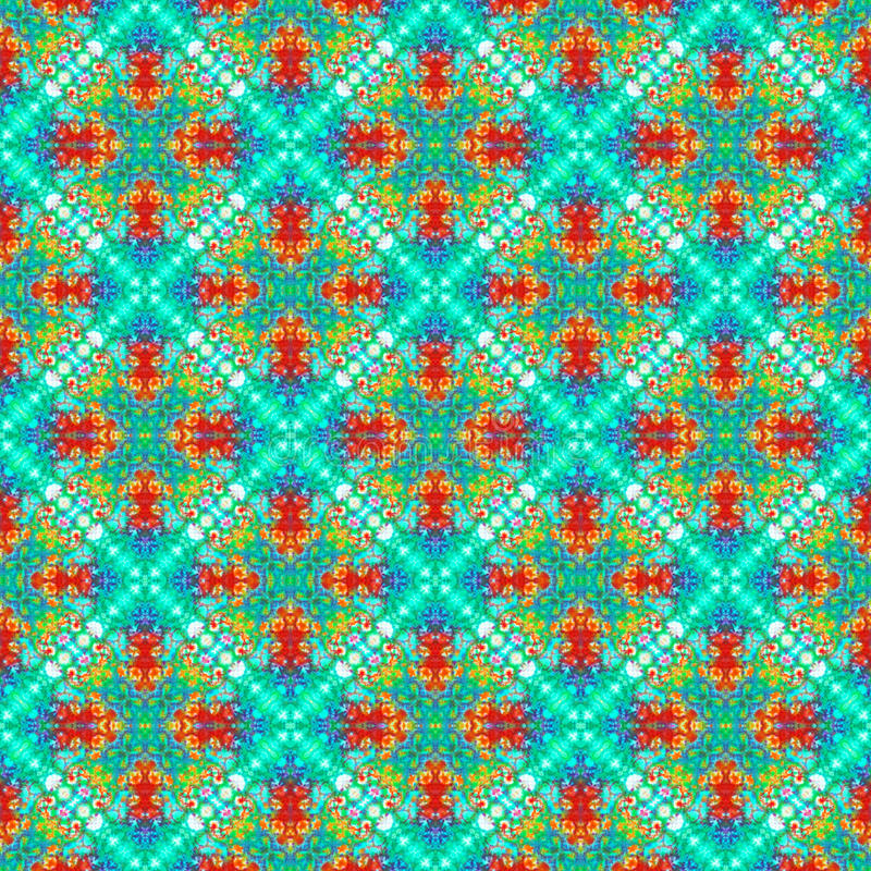 Background Seamless Tie Dye Pattern. Pattern created originally from tie dyed fabric stock image