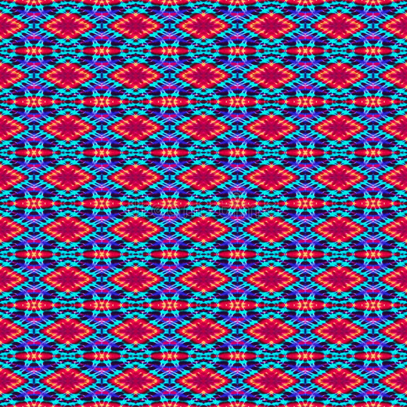 Background Seamless Tie Dye Pattern. Created using a pattern originated from tie dye stock image