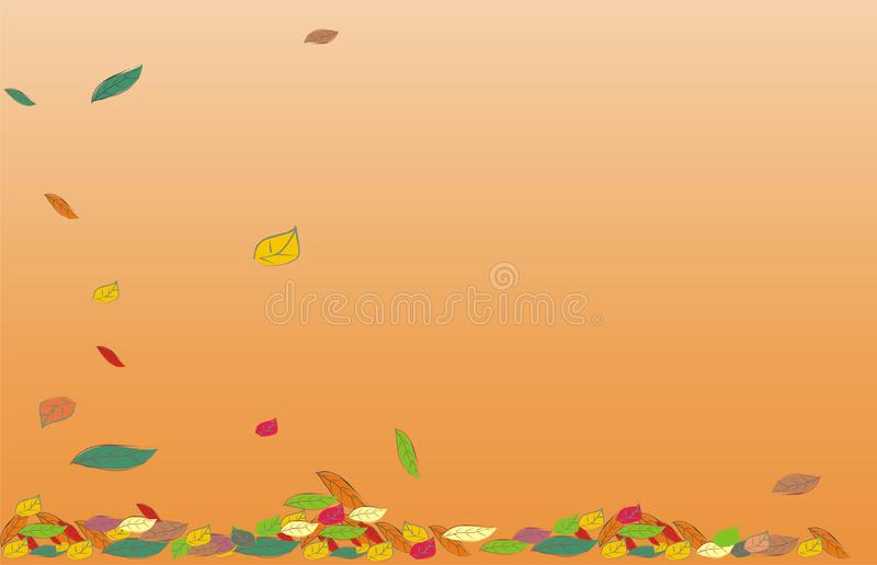 Background for September royalty free stock photos
