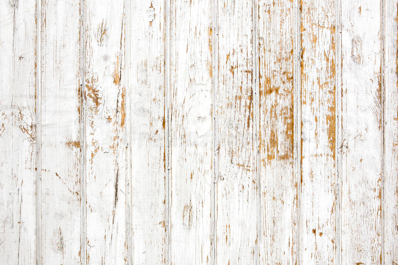Background of shabby painted wooden plank stock photo