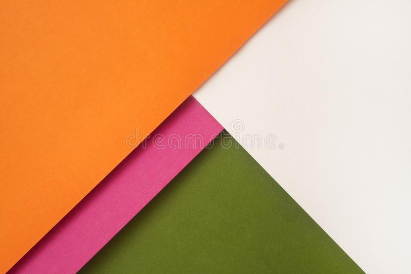 Background of shape and geometry. Colored background decorations with paper stock photography