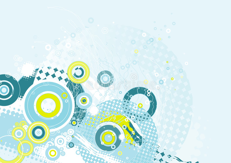 Background with shapes,vector royalty free illustration