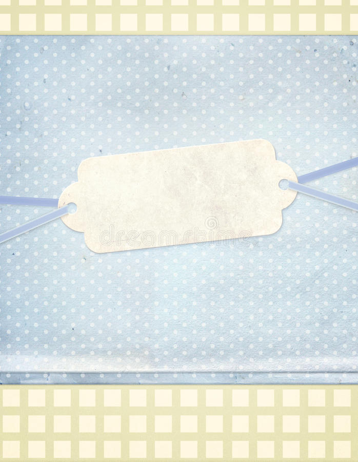 Background in shebby chic style stock illustration