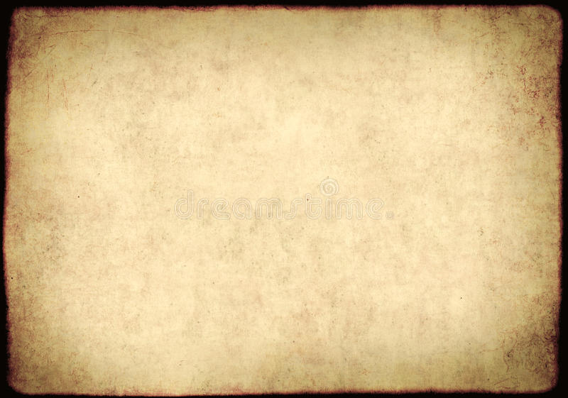 Texture of old, soiled paper. Background - a sheet of the old, soiled paper stock illustration