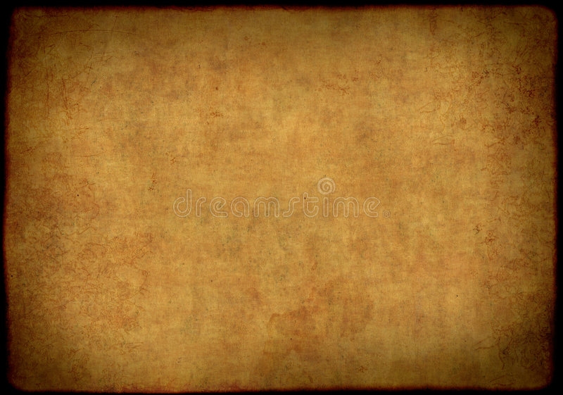 Background - sheet of the old, soiled paper. Background - a sheet of the old, soiled paper royalty free illustration