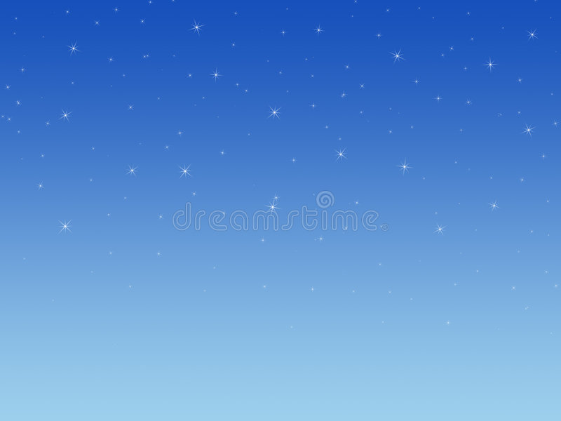 Background with shining stars. The Background with shining stars stock illustration