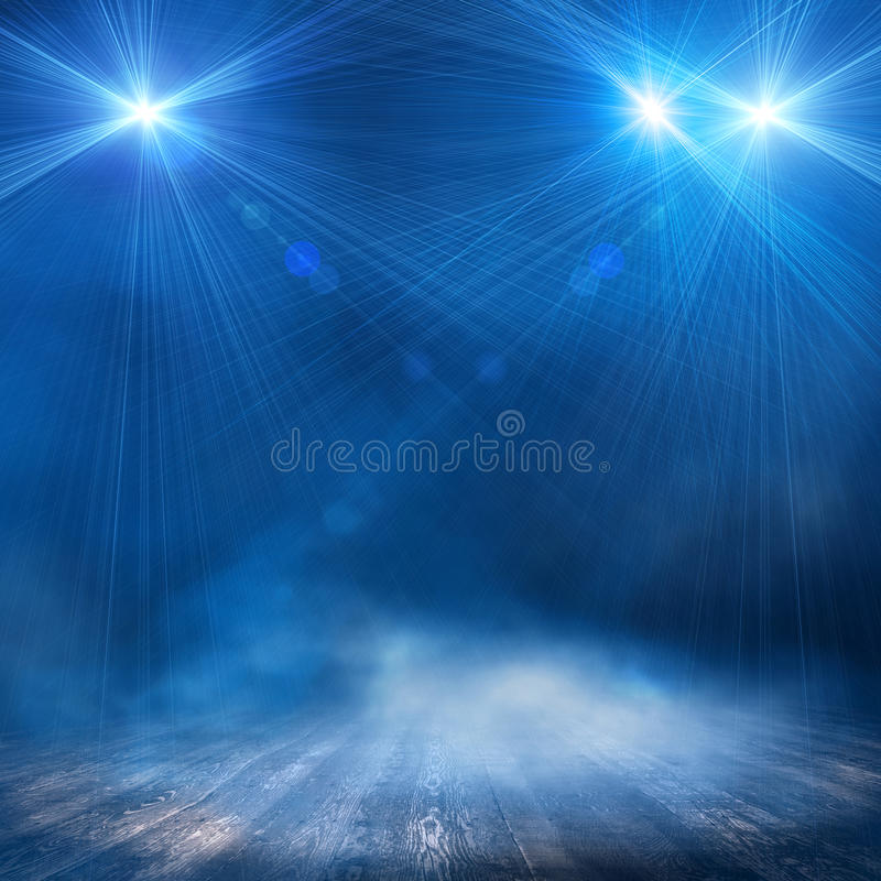 Background in show stock illustration
