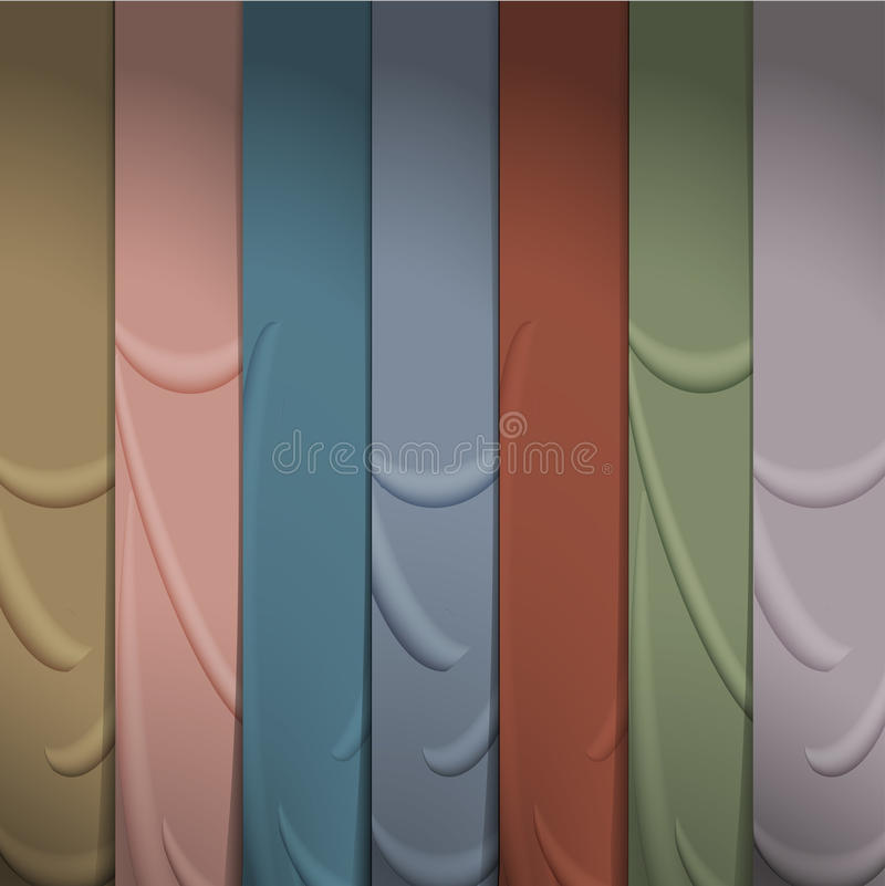 Download Background of silk ribbons stock vector. Image of grunge - 28174407