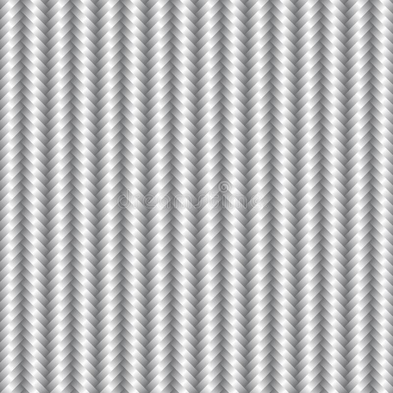 Background of a silver grey basketry. stock illustration