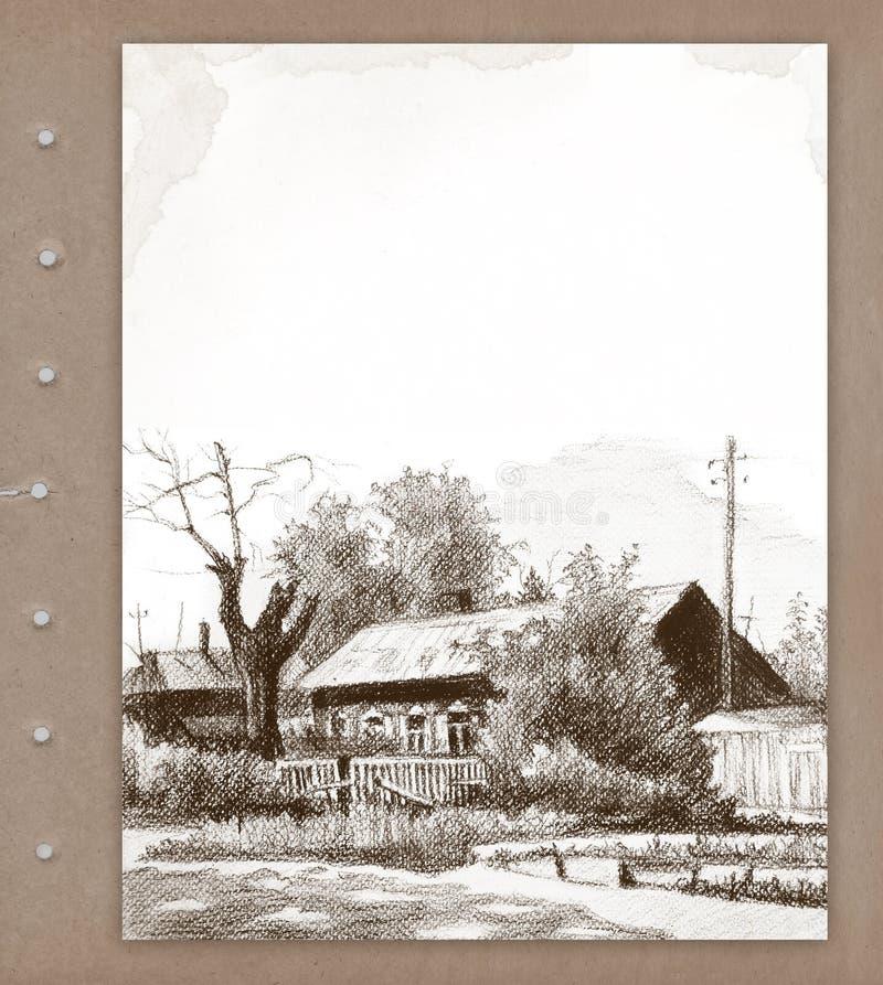 Download Background with sketch stock illustration. Image of damaged - 15873397