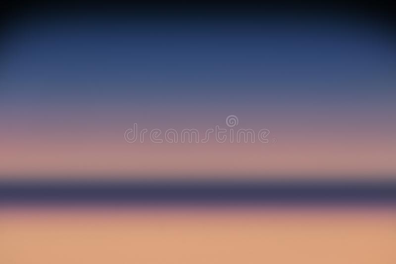 Background sky blur summer light abstract gradientsunset or sunrise yellow orange and violet vector illustration