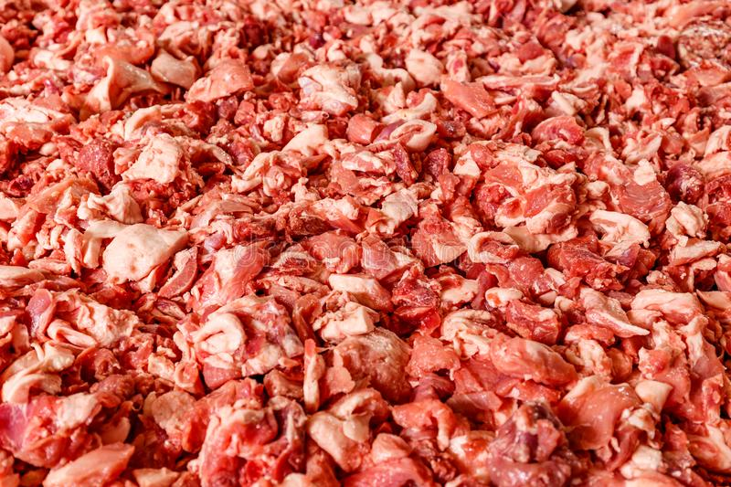 Raw pork meat stock images