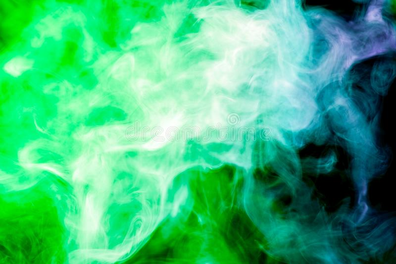 Background from the smoke of vape stock image