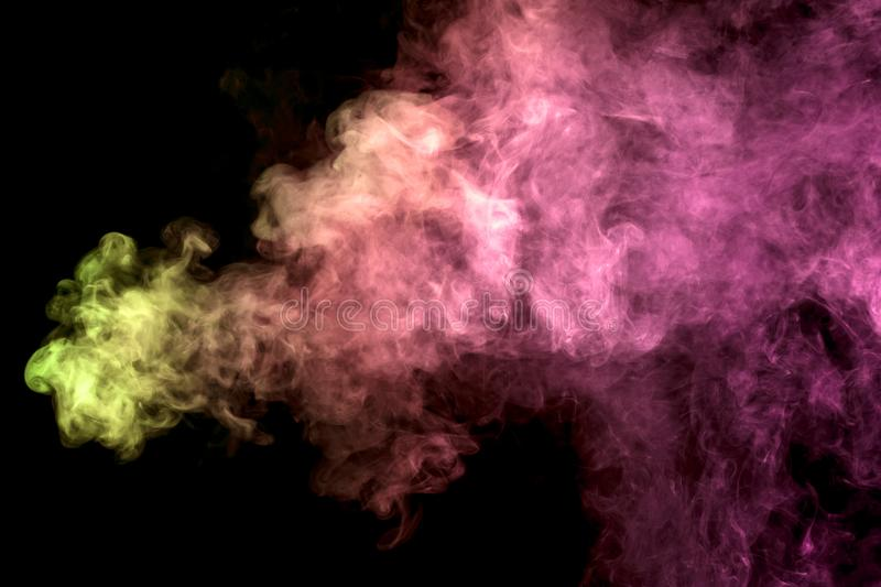 Background from the smoke of vape royalty free stock photos