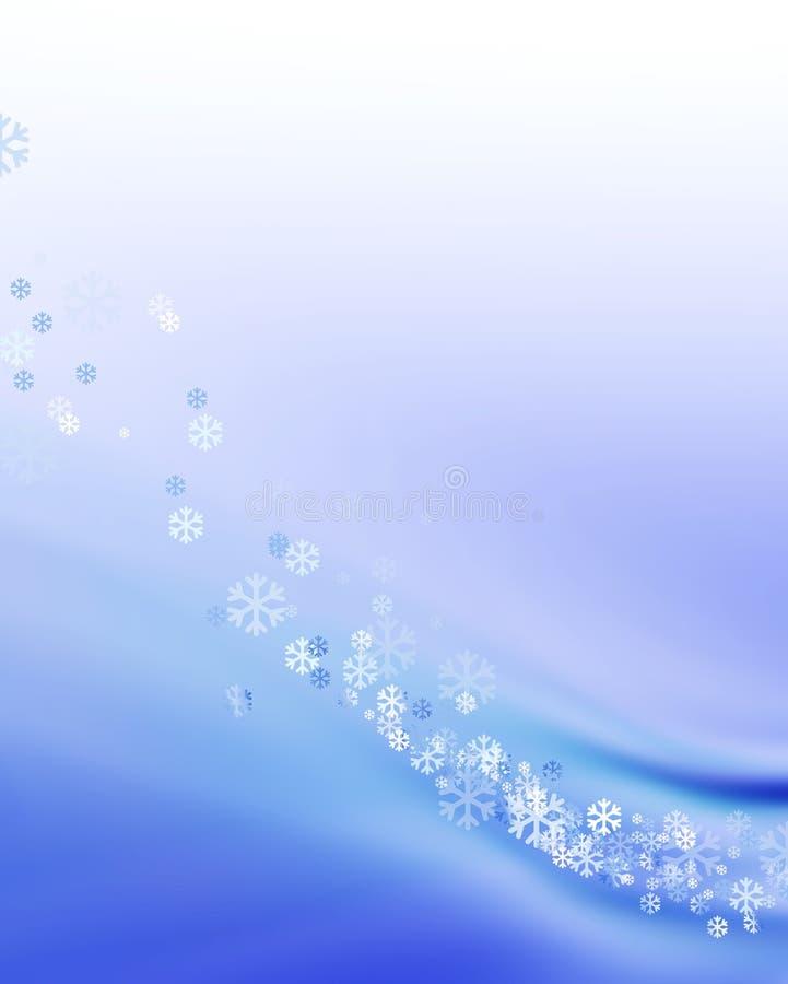 Download Background snow απεικόνιση αποθεμάτων. εικονογραφία από νιφάδες - 1525614