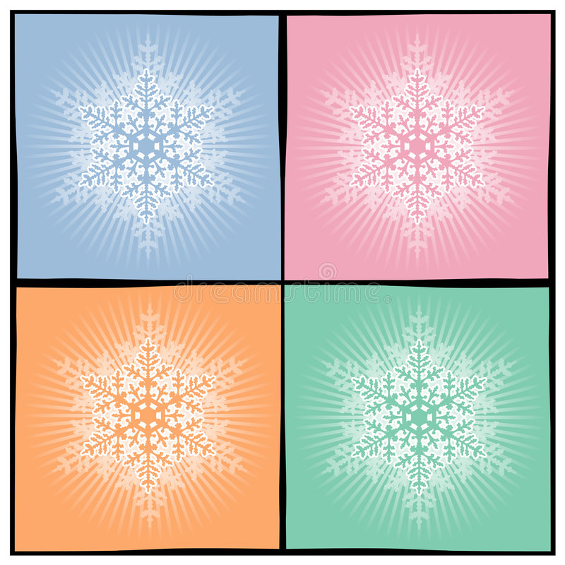 Download Background snowflake stock vector. Illustration of christmas - 3523577
