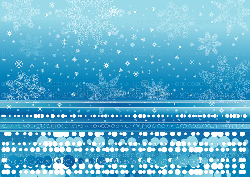 Download Background Of Snowflakes Stock Photo - Image: 1406230