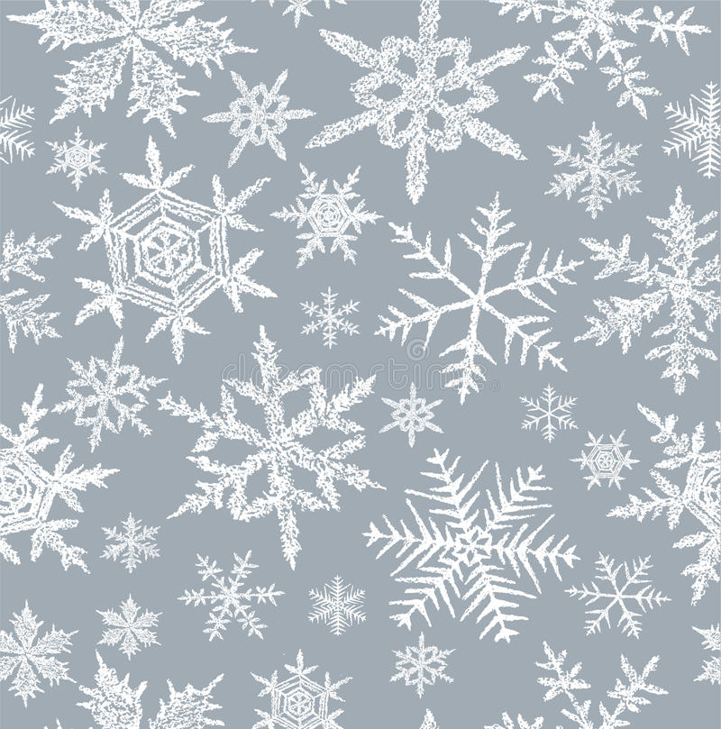 Download Background With A Snowflakes Stock Vector - Image: 25520957
