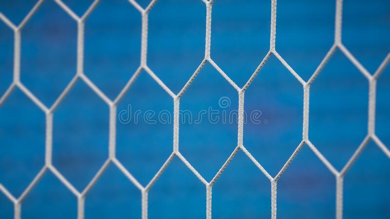 Background of soccer net. Abstract background royalty free stock image